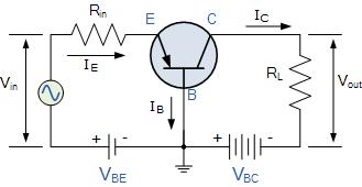 مدار ترانزیستور بیس مشترک