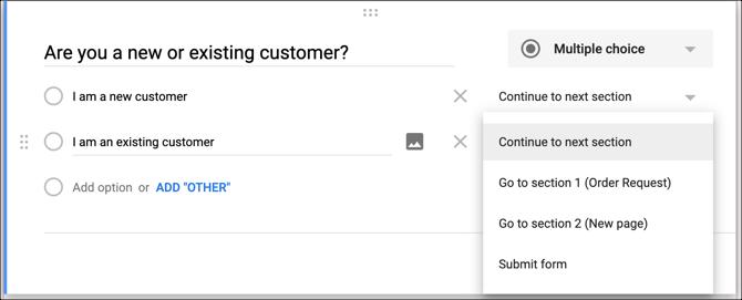 ترفند گوگل فرم