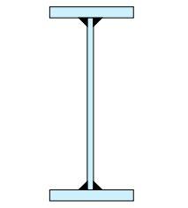 سطح مقطع عرضی یک تیر ورق