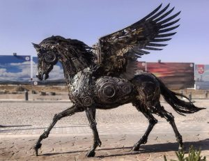 اسب بالدار مکانیکی — زنگ تفریح [ویدیوی کوتاه علمی]