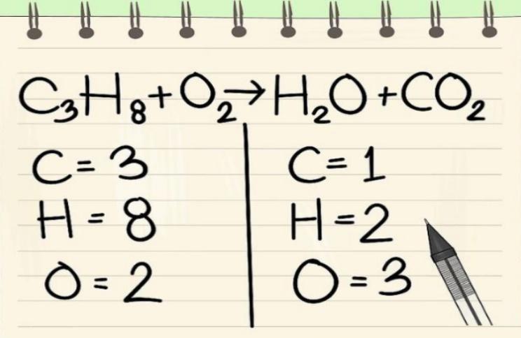 موازنه واکنش شیمیایی — به زبان ساده