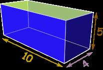 مثال حجم
