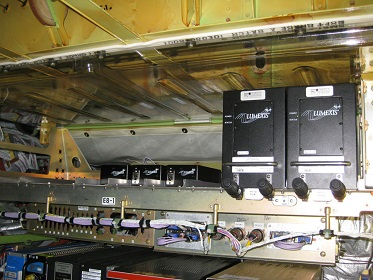 اتصالات فیبر نوری در هواپیما