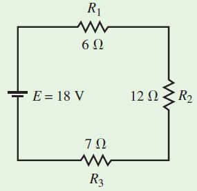 مدار مثال ۱