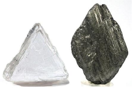 گرافیت - الماس