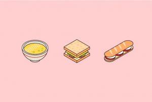 طراحی آیکون های ایزومتریک غذا با ایلاستریتور (+ دانلود فیلم آموزش گام به گام)