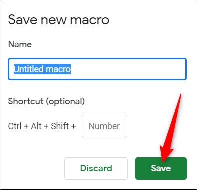 ماکرو در گوگل شیت