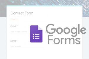 ساخت فرم تماس وب سایت با گوگل فرم — از صفر تا صد