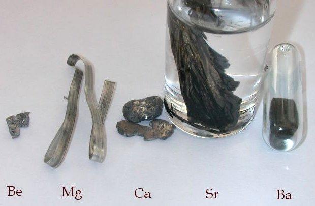 فلزات قلیایی