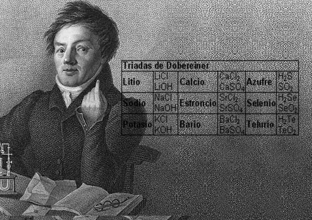 جدول تناوبی-دوبراینر