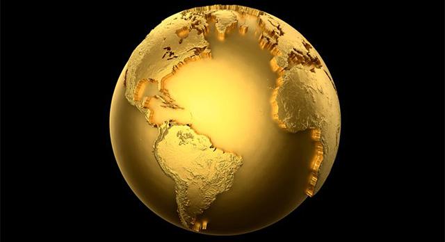 طلا-در-زمین