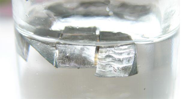 لیتیوم- فلزات قلیایی در پارافین