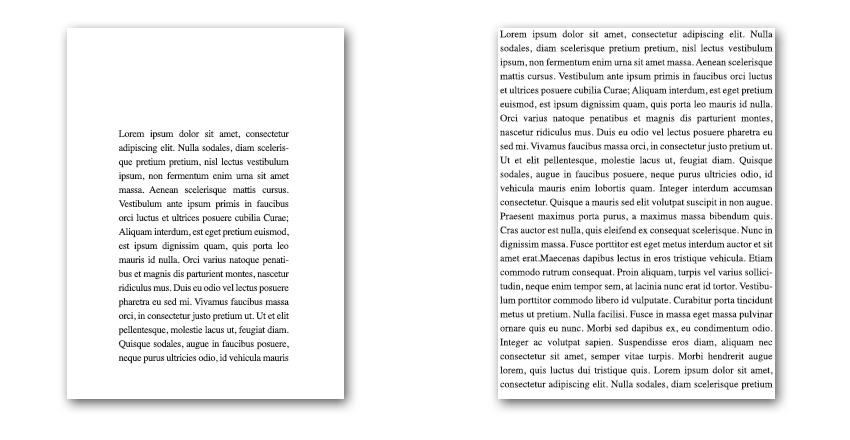 صفحه بندی کتاب در InDesign