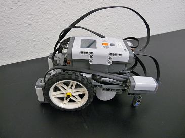 نمونهای از ربات چرخی توپی