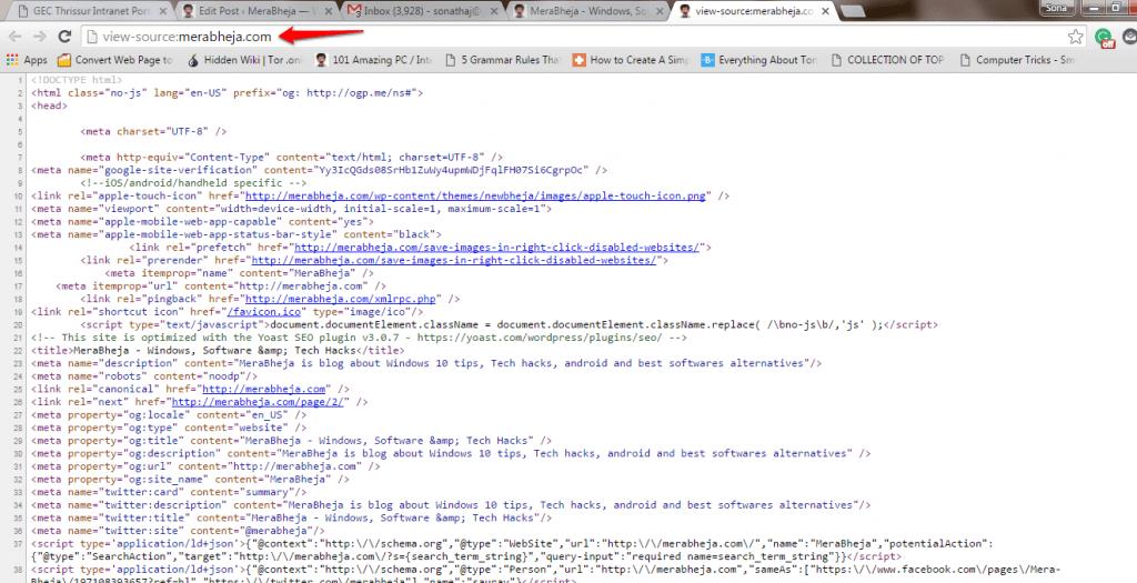 رفع محدودیت کلیک راست در صفحات وب