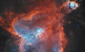 سحابی قلب (Heart Nebula) — تصویر نجومی روز