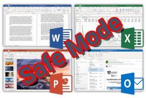 باز کردن فایل های ورد، اکسل و پاورپوینت در حالت Safe Mode — راهنمای کاربردی
