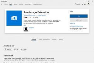 نمایش و ویرایش تصاویر RAW در ویندوز ۱۰ — راهنمای کاربردی