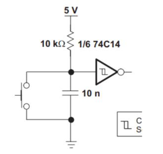 صافکننده ولتاژ کلیدزنی با استفاده از اشمیت تریگر