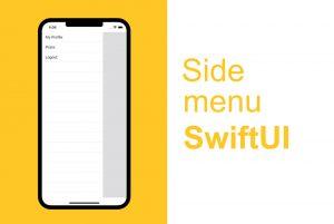 ایجاد منوی کناری لغزشی با SwiftUI — از صفر تا صد