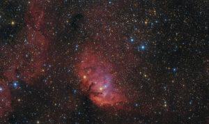 سحابی لاله — تصویر نجومی روز