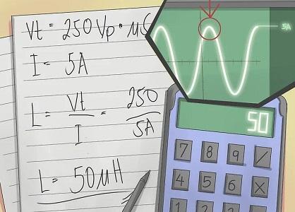 محاسبه اندوکتانس سلف
