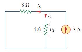 مدار پس از حذف منبع ولتاژ