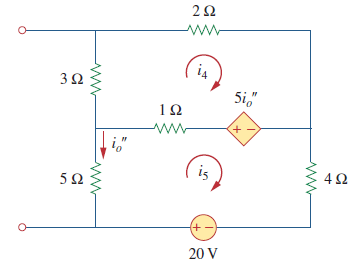 مدار بالا پس از حذف منبع جریان