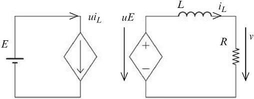 شکل ۵:مدار معادل دقیق مبدل کاهنده