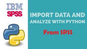 بارگذاری فایل SPSS در پایتون — راهنمای کاربردی