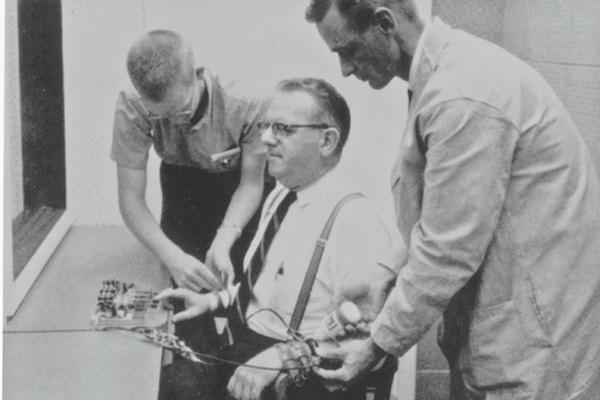 شرکت کننده در آزمایش میلگرم