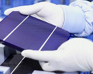 سلول خورشیدی مونوکریستالی
