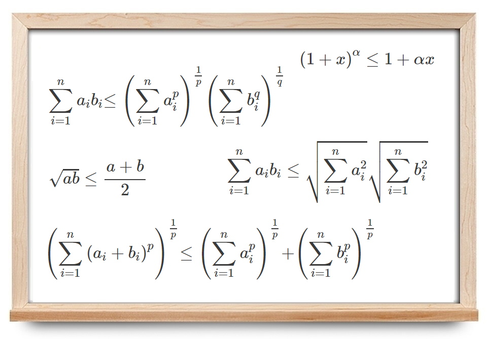 نامساوی های ریاضی — به زبان ساده