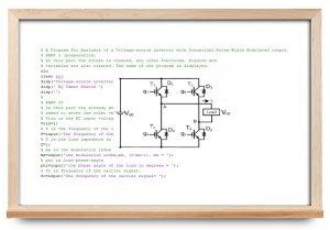 شبیه سازی اینورتر در متلب — به همراه کد