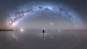 آینه غول آسا در دل کویر نمک — تصویر نجومی روز