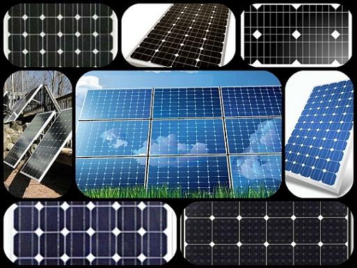 صفحات خورشیدی مونوکریستالی