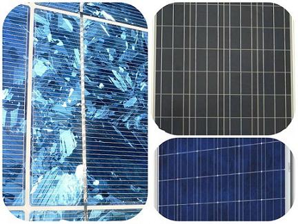 صفحات خورشیدی پلیکریستالی