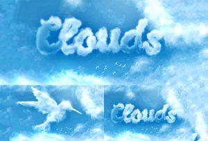 ایجاد جلوه ابری در فتوشاپ — راهنمای گام به گام