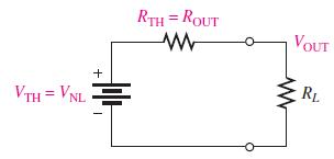 مدار معادل تونن یک منبع تغذیه با مقاومت بار