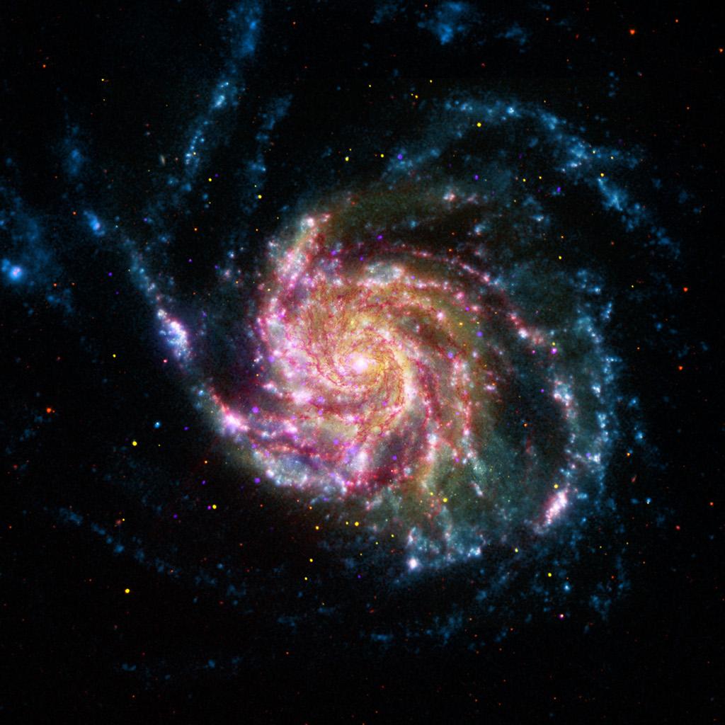 کهکشان فرفره -- تصویر نجومی روز