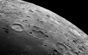 دهانه های ماه — تصویر نجومی روز