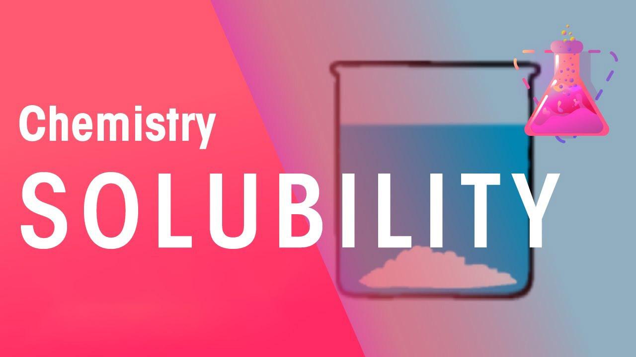 انحلال پذیری مواد در شیمی — از صفر تا صد