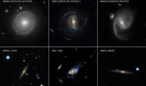 چرخش سریع کهکشان های مارپیچی — تصویر نجومی روز