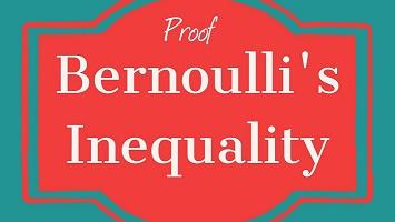 Bernoulli inequality proofs
