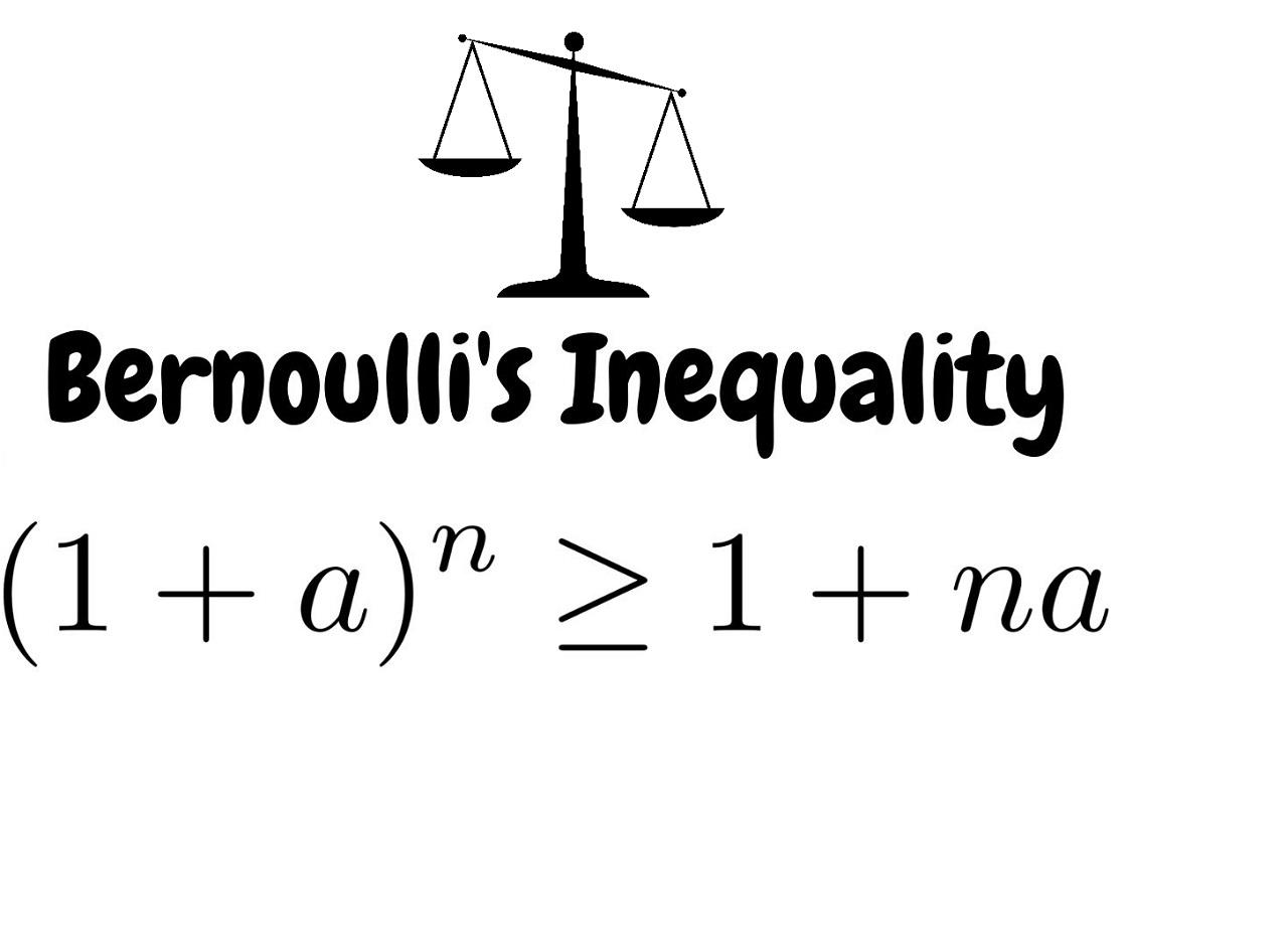 نامساوی برنولی (Bernoulli's Inequality) — به زبان ساده