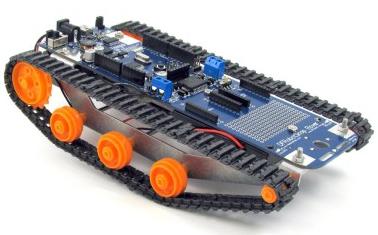 نمونهای از یک ربات ریلی