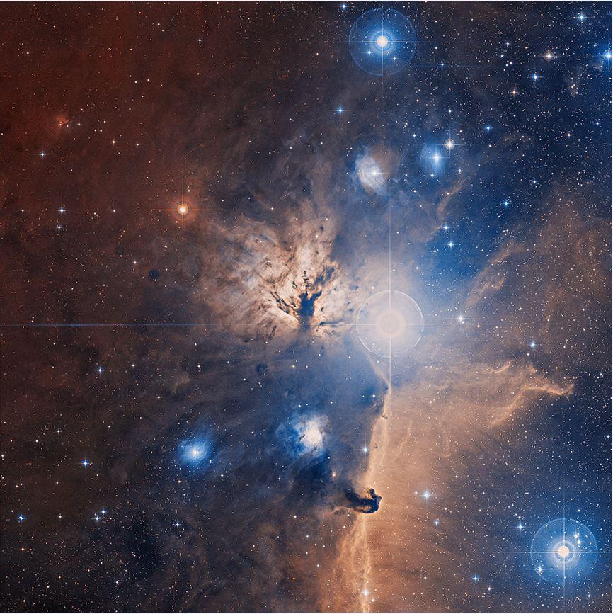سحابی شعله -- تصویر نجومی روز