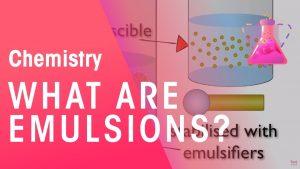 امولسیون چیست؟ — به زبان ساده
