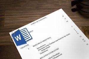 ایجاد فهرست در ورد — به زبان ساده