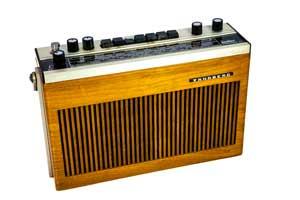یک رادیویی ترانزیستوری